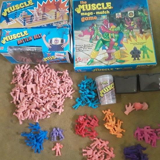 MUSCLE Figures Mattel 1986