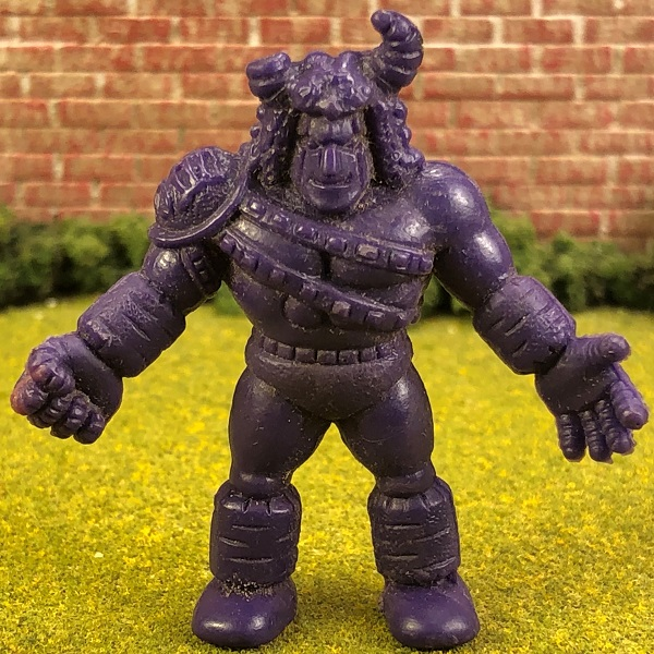 Purple Terri-Bull MUSCLE Figure