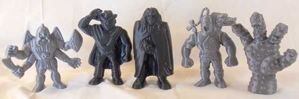 3D Printed MUSCLE Figures