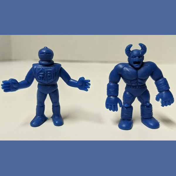 Dark Blue MUSCLE Figure