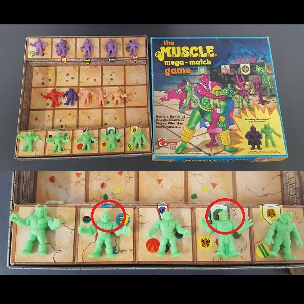 M.U.S.C.L.E. Board Game Figures
