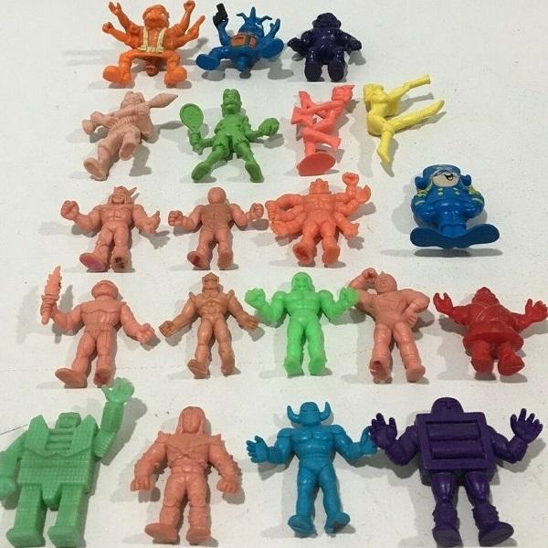 Mixed M.U.S.C.L.E. Figure Lot