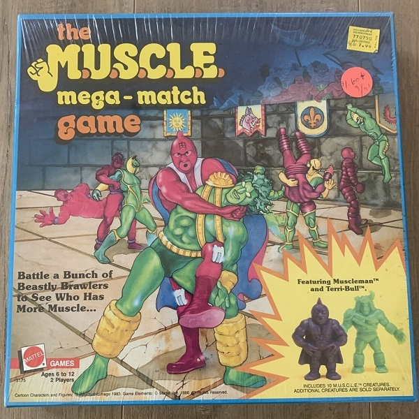 MUSCLE Sealed Board Game