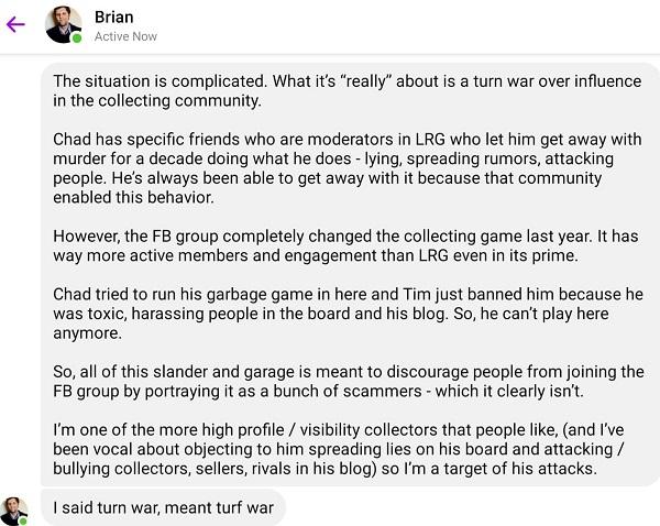 Brian DeMars Talking Shit