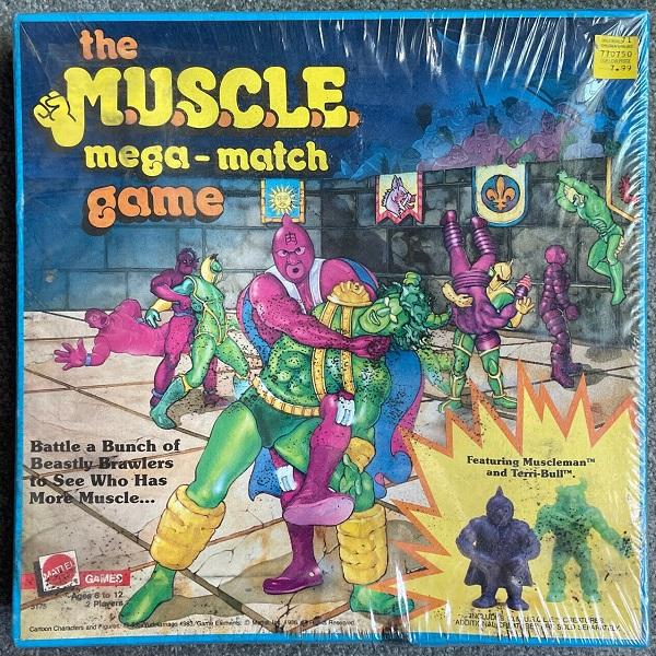 Sealed M.U.S.C.L.E. Board Game